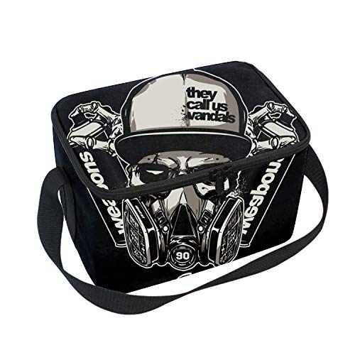(Insulated Lunch Box They Called Us Vandal Lunch Bag Large Cooler Tote Bag for Men, Women)