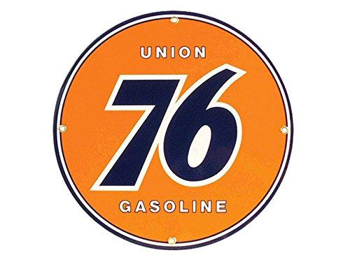 Corvette Decor: Union 76 Gas Porcelain Sign