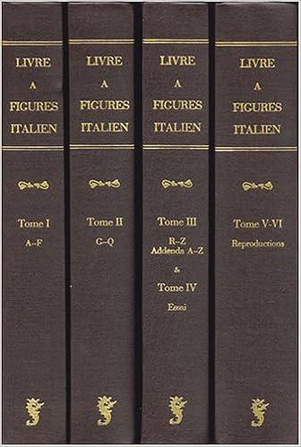 Le Livre A Figures Italien Depuis 1467 Jusqua 1530 Essai De