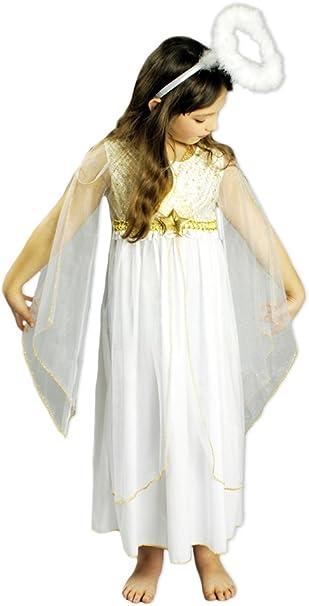 Ángel Disfraz Lucia para niña – Hermosa Disfraz para Niños En ...