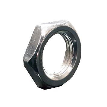 Gut bekannt 20 Stück Sechskantmutter M13x1 SW17 H. 4mm verzinkt sehr flach NE46