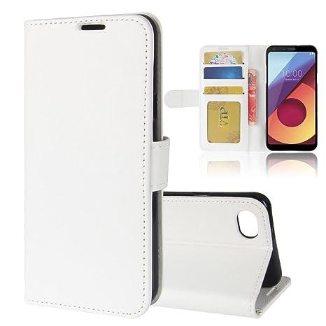 Amazon.com: LG Q6 Plus Caso, disland R64 Pattern – Funda de ...