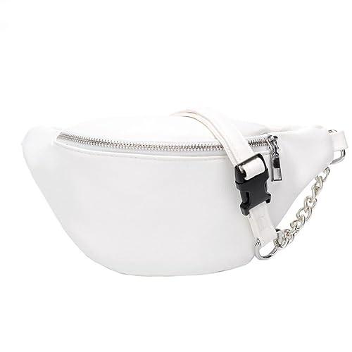 Javpoo Borsa a tracolla per borsa a tracolla a catena in pelle per ragazza  di moda 838870c9a505