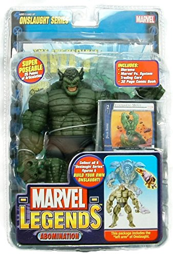 Marvel Legends Onslaught Series - Abomination - With Bonus of 32 Page Comic Book
