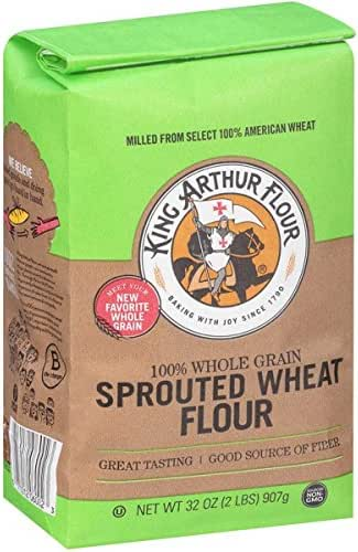 Flours & Meals: King Arthur Sprouted Wheat Flour