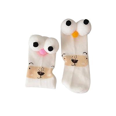 Baby Boys Girls Ankle Socks,Kids Cotton Short Eyes Rabbit Socks Stocking