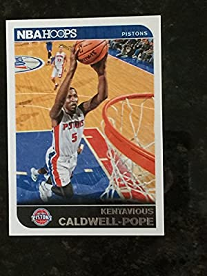 2014-15 Panini Hoops  207 Kentavious Caldwell-Pope Trading Card in a  Protective Case With a Small Stand - Detroit Pistons 615a39ba0