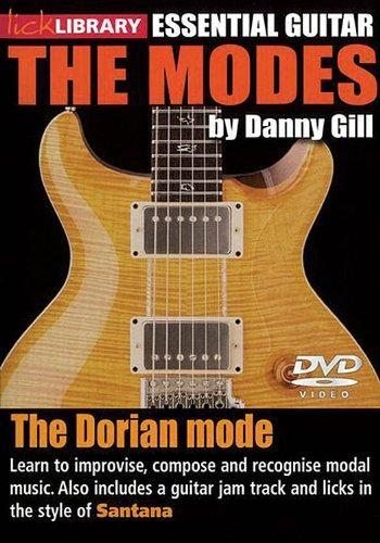 The Modes - Dorian: Santana For Guitar Dvd Guitar Lick Library