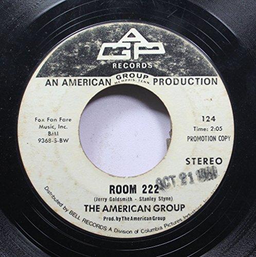 THE AMREICAN GROUP 45 RPM ROOM 222 / ROOM 222 (Room 222 1 Season)