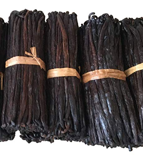 """10 Madagascar Vanilla Beans Grade B for extract, Paste and Baking by FITNCLEAN VANILLA