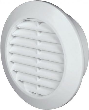 Rejilla de ventilación (plástico, 70 mm), color blanco: Amazon.es: Bricolaje y herramientas