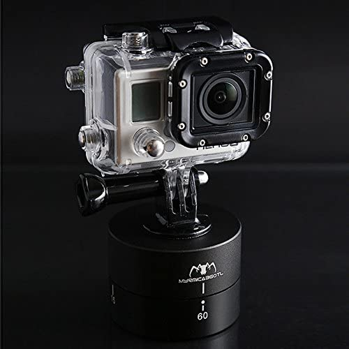 360 Degree Auto Rotation Camera Mount for GoPro Black Durable JINGZ MYRMICA 360TL Time Lapse Pan and Tilt Head