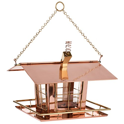 H Potter Wacky Copper Bird Feeder by H Potter