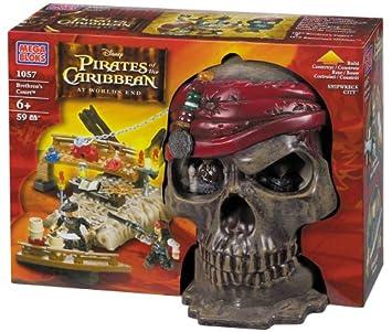 Mega Bloks Pirates Of The Caribbean 3 Shipwreck Cove Skull Amazon