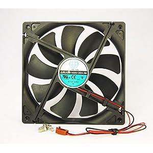 140mm 25mm Case Fan 12V DC 153CFM CPU Computer Cooling 2 Wire Ball Bg 14025 409