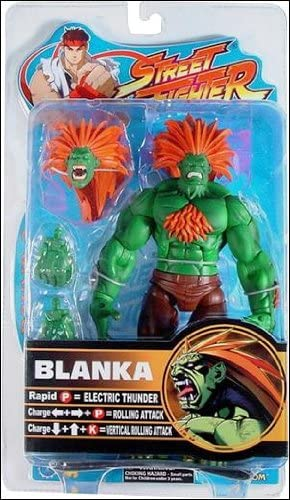 Street Fighter Blanka 5 1//2 inch action figure