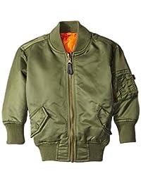 Alpha Industries Boys Ma-1 Bomber Jacket