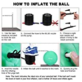 Trideer Exercise Ball Chair, Stability Ball with