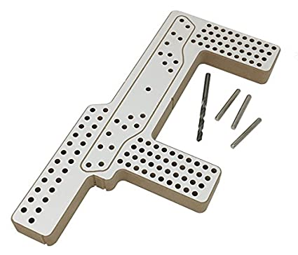 Hardware Horse Drill Jig U2013 Furniture Handle Installation Template For Cabinet  Knobs U0026 Pulls U2013 Alignment
