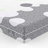 Dourxi 3-Layer 6 Inch Crib Mattress Dual-Sided