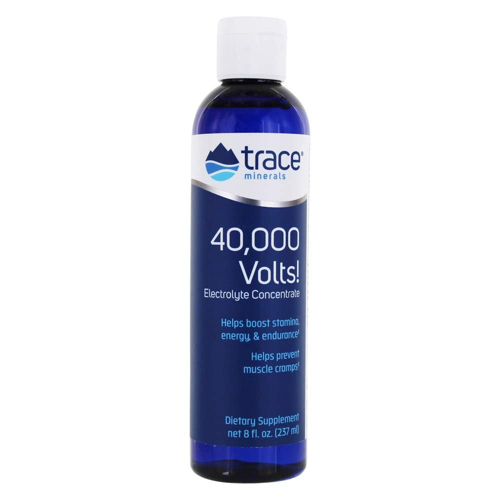 Trace Minerals 40,000 Volts, 8-Ounce