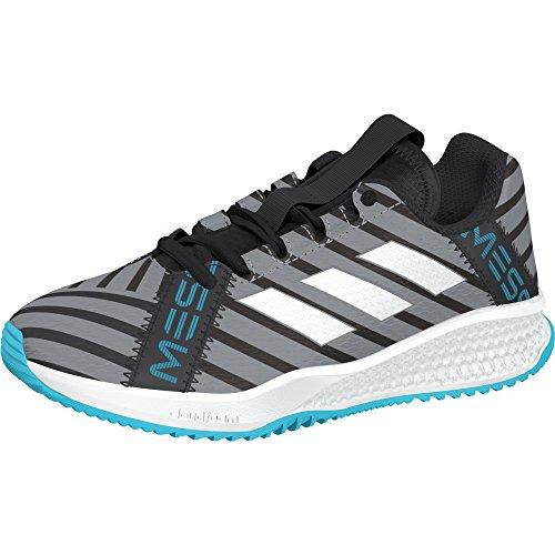 adidas Rapidaturf Messi K, Zapatillas de Deporte Unisex Niños Negro (Negbas / Ftwbla / Supcia 000)