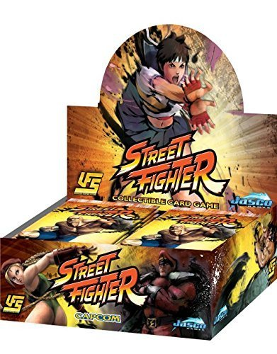 UFS Street Fighter Collectible Card Game 24 Pack Bonus Booster Box (includes 1 Promo) Universal Fighting System New (Bonus Booster)