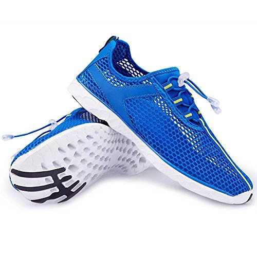 Cior Fantiny Womens Quick Drying Aqua Water Shoes Maglie Slip-on Sportive Atletiche Sportive Per Uomo 02blue