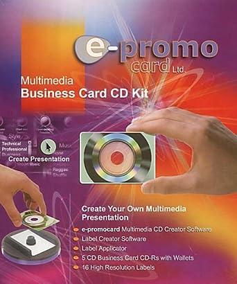 Multimedia business card kit amazon software multimedia business card kit reheart Choice Image