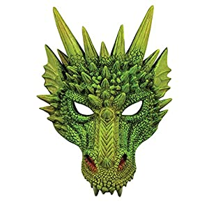 Forum Novelties Unisex Dragon Half Mask Accessory