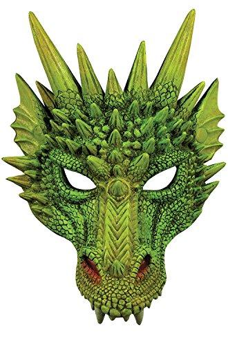 Forum Novelties Unisex Dragon Half Mask Accessory