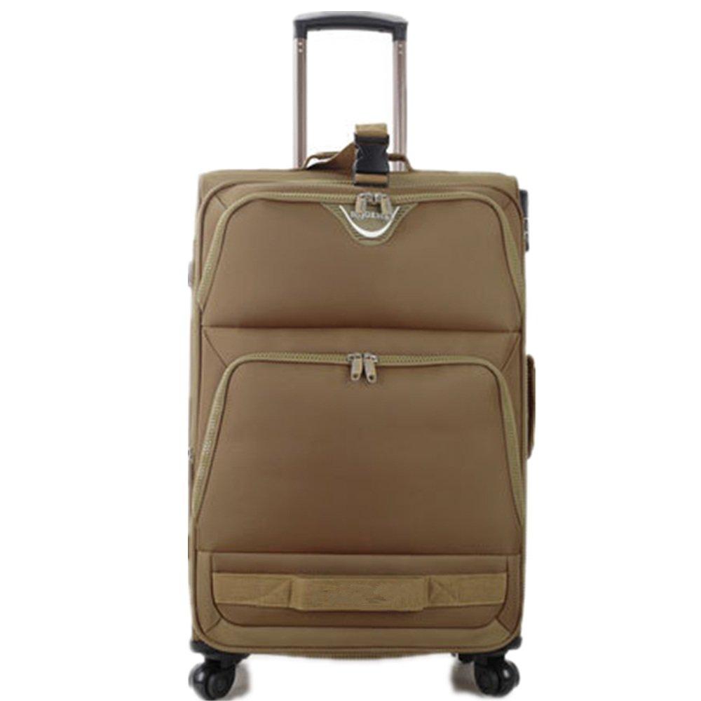 スーツケース ユニバーサルホイール荷物オックスフォードブレーキ 週末にスーツケースを運ぶ (サイズ : 20) B07SRXB56F