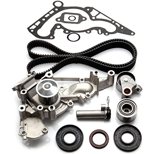 SCITOO TBK298WPT Timing Belt Kit Water Pump Fits 98-09 Lexus Toyota Tundra 4Runner Sequoia 4.7L ()