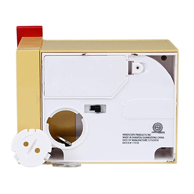 Amazon.com: LtrottedJ Automated Cat Steal Coin Bank Piggy Bank Money Saving Box Gift Cute: Toys & Games