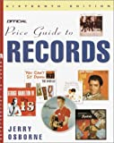 The Official Price Guide to Records, Jerry Osborne, 0609809083