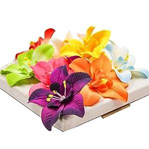 FLOWER 30pcs/lot Artificial Silk Orchid Heads for Wedding Decoration DIY Wreath Gift Scrapbooking Craft Supplies Fake 55
