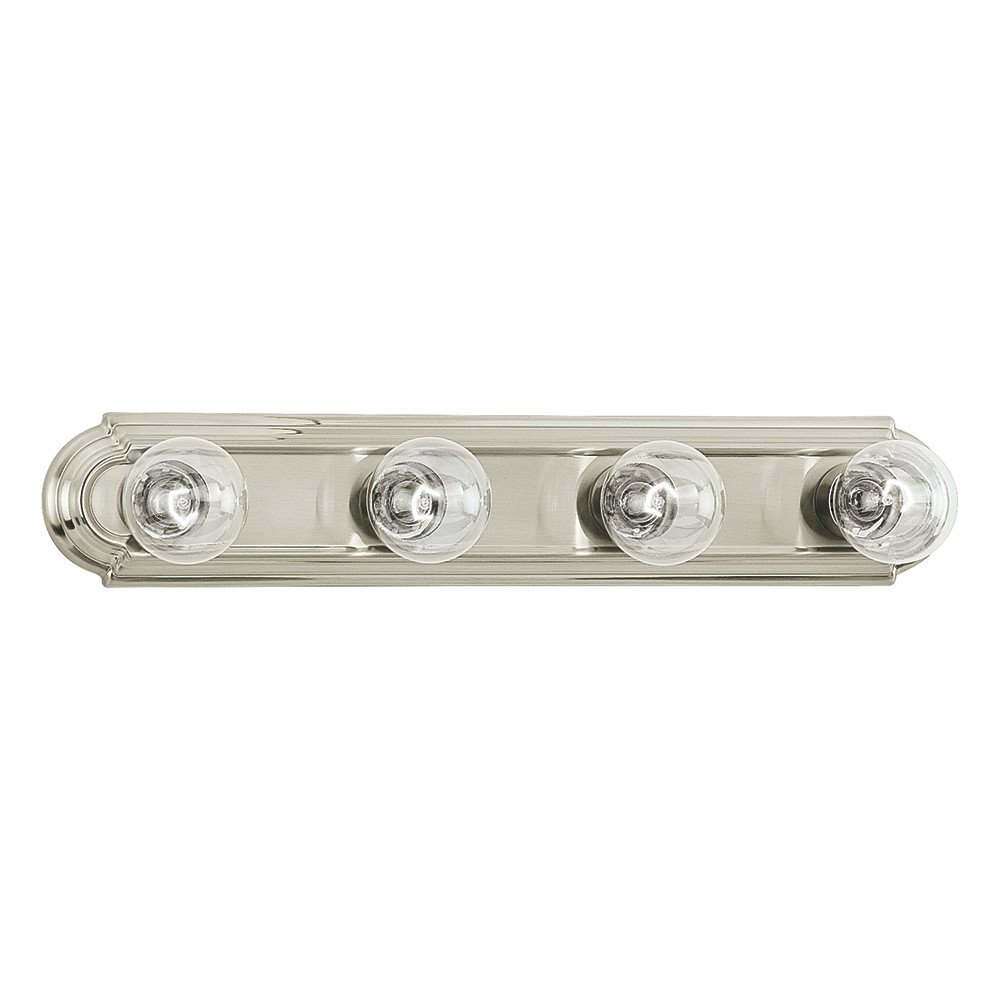 Sea Gull Lighting 4701-962 De-Lovely Four-Light Bath or Wall Light Fixture, Brushed Nickel Finish by Sea Gull Lighting