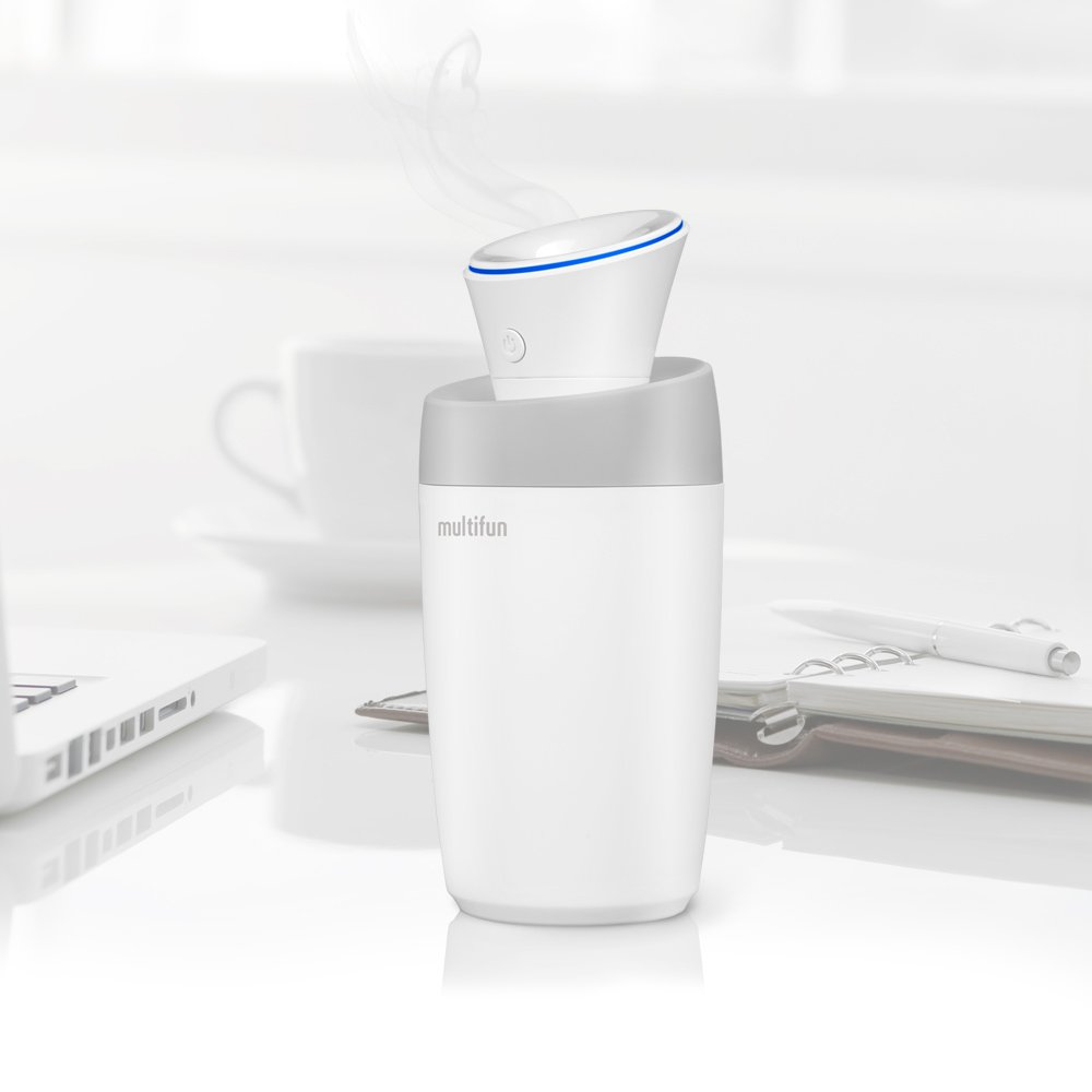 USB Humidifier, multifun Portable Mini Humidifier, Car Humidifier with Auto Shut-off, Multi Use for Travel Office Desk Desktop Car Small Baby Bedroom with Water Bottle by multifun (Image #6)