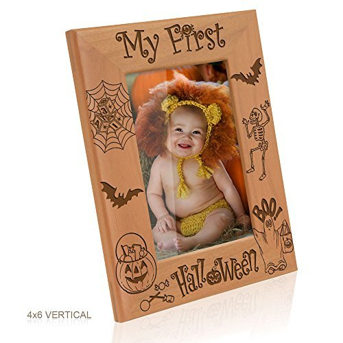 Kate Posh - My First Halloween Picture Frame (4x6 Vertical) by Kate Posh]()