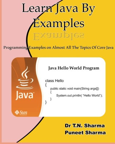 Learn Java by Examples: Exaples on almost all the topics of Core Java