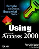 img - for Using Microsoft Access 2000 (Using Series) book / textbook / text book