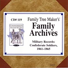 Family Archives #119: Military Records: Confederate Soldiers, 1861 - 1865