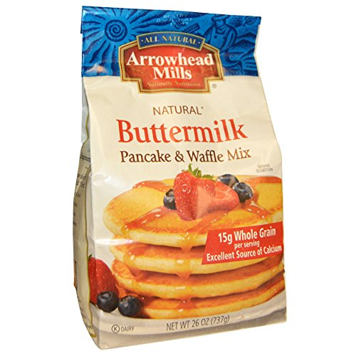Arrowhead Mills Buttermilk Pancake and Waffle Mix, 26 Ounce (Pack of - Arrowhead Mills Bread Mix