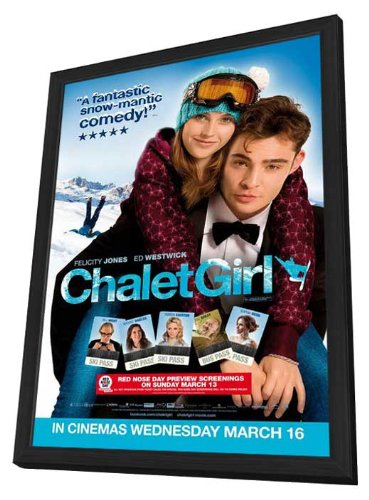 Chalet Girl 11 x 17 Movie Poster - Style A - in Deluxe Wood - Deluxe Chalet