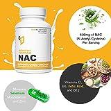 WelEssentials NAC Antioxidant Complex - 600m