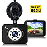 Dash Cam,Car DVR,1080P Mini Car Camera HD 2.7' LCD Dashboard Camera Driving Recorder Night Vision 150° Wide Angle G-sensor Loop Recording Parking Monitor