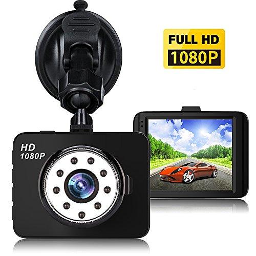 Dash Cam,Car DVR,1080P Mini Car Camera HD 2.7 LCD Dashboard Camera Driving Recorder Night Vision 150° Wide Angle G-sensor Loop Recording Parking Monitor