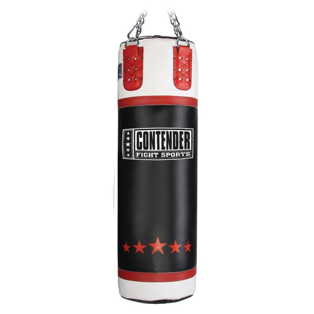 Contender Fight Sports Leather Boxing Punching Heavy Bag (Filled) by Contender Fight Sports