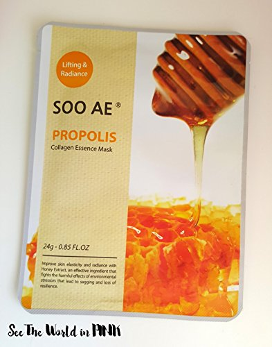 SOO AE Propolis Collagen Essence Honey Mask Skincare