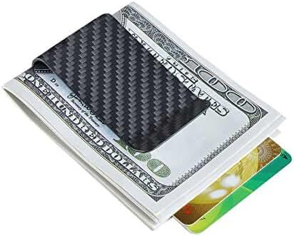 CL Carbonlife(TM) Carbon Fiber Money Clip Matte Credit Card Business Card Holder